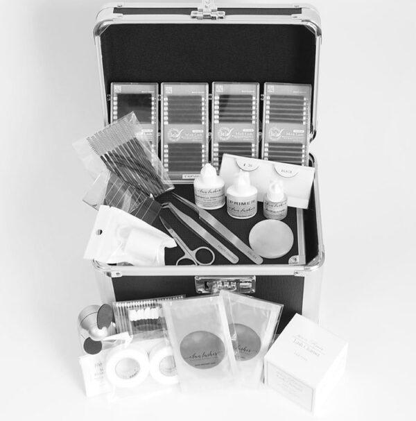 Volume Eyelash Extension Certification Training Kit E'lan Lashes